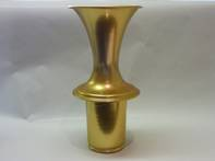 Gold Trumpet Flower Holder